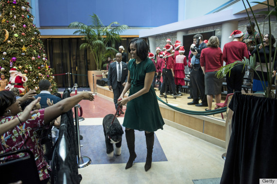 michelle obama christmas