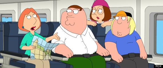 FAMILY GUY AMERICAN DAD PULLED