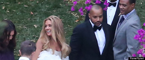 Donald Faison Cacee Cobb Married