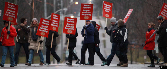 Ontario Teachers Strike