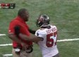 Adam Hayward Shoves Bryan Cox: Buccaneers Linebacker Pushes Assistant Coach (VIDEO)