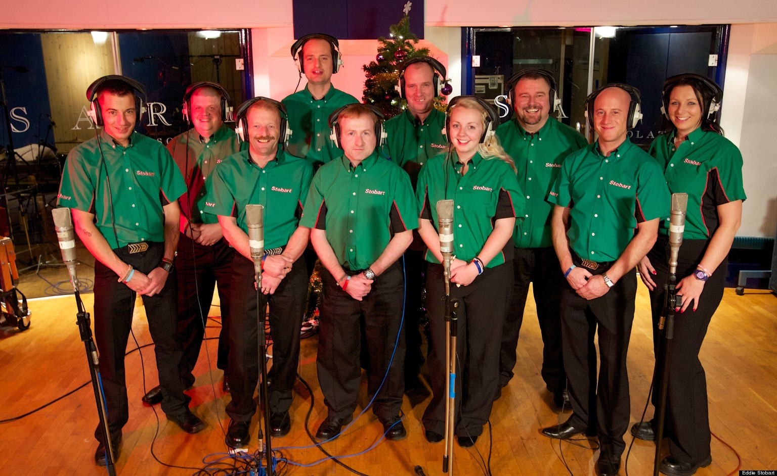 Eddie Stobart Releases Christmas Single The 12 Days Of