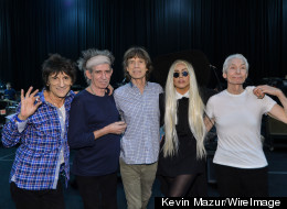 PICTURES: Gaga Joins The Stones