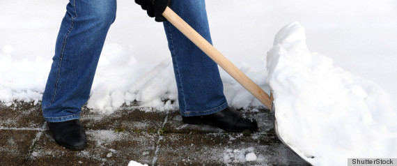 EASIEST WAY TO SHOVEL SNOW