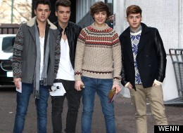 Union J Sign On the Dotted Line