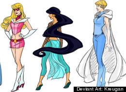 Disney Princess Superheroes!