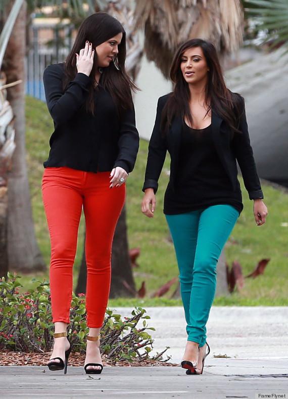 kim khloe kardashian pants