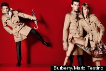 Romeo Beckham Is The New Face Of Burberry