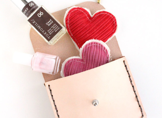 Homemade gift ideas create a simple leather pouch huffpost for High end gifts for women