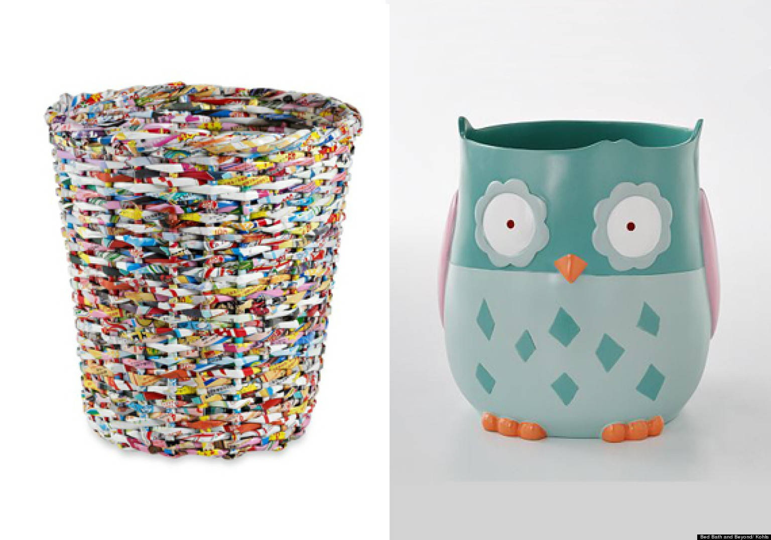 Contenedores de basura originales para tu baño (FOTOS)  Huffington