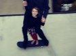Tony Hawk Skates With 5-Year-Old Daughter Kadence [PHOTO]