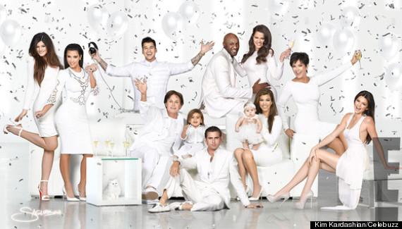 kardashianchristmascardfamily2012