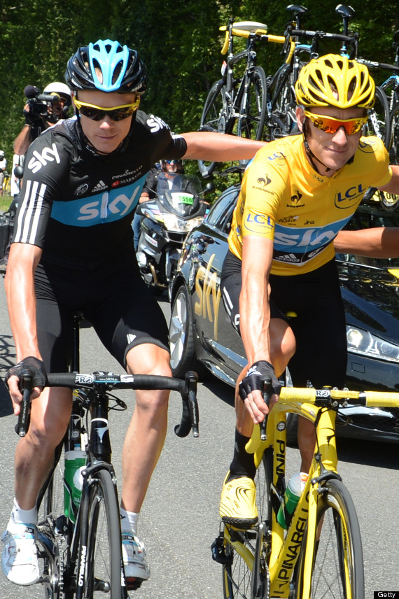 bradley wiggins chris froome