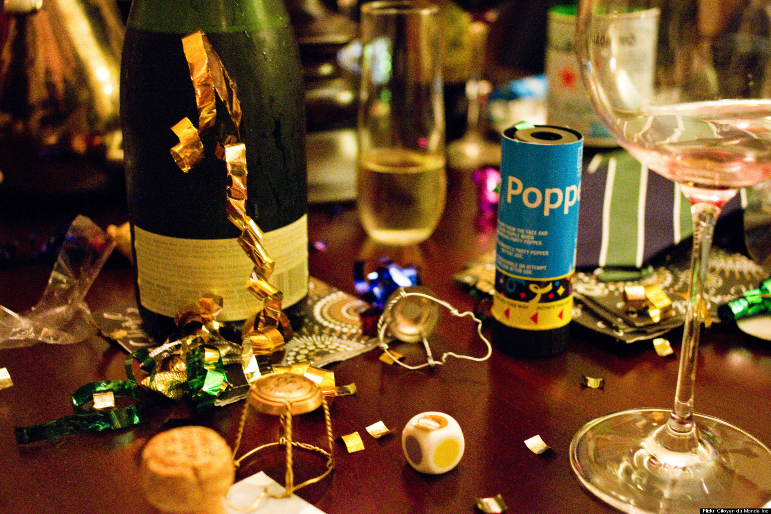 New year 39 s eve san francisco 2013 a party for every local photos huf - Deco table nouvel an ...