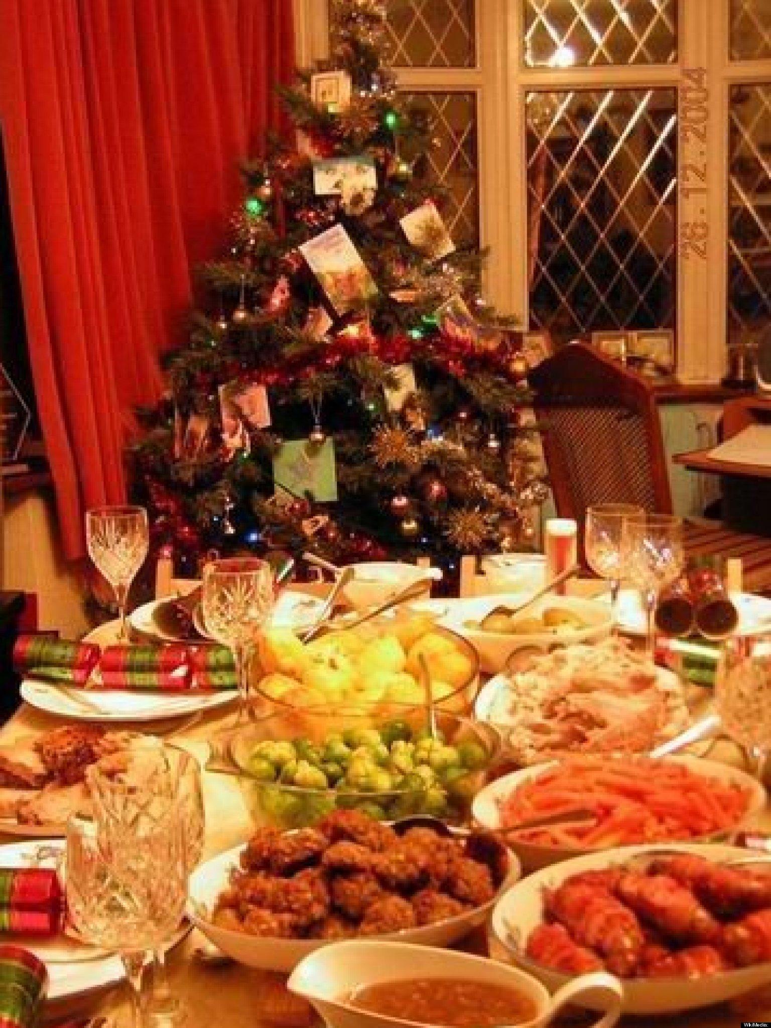 Christmas dinner nine months to make nine minutes to for Ideas for christmas dinner