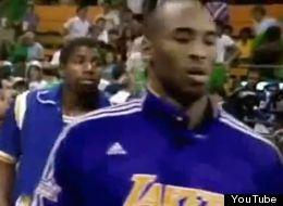 Kobe y Magic jugando juntos (VIDEO)