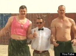 WATCH: British Troops Do 'Gangnam Style'