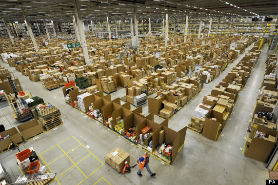 amazon fulfilment centre in swansea