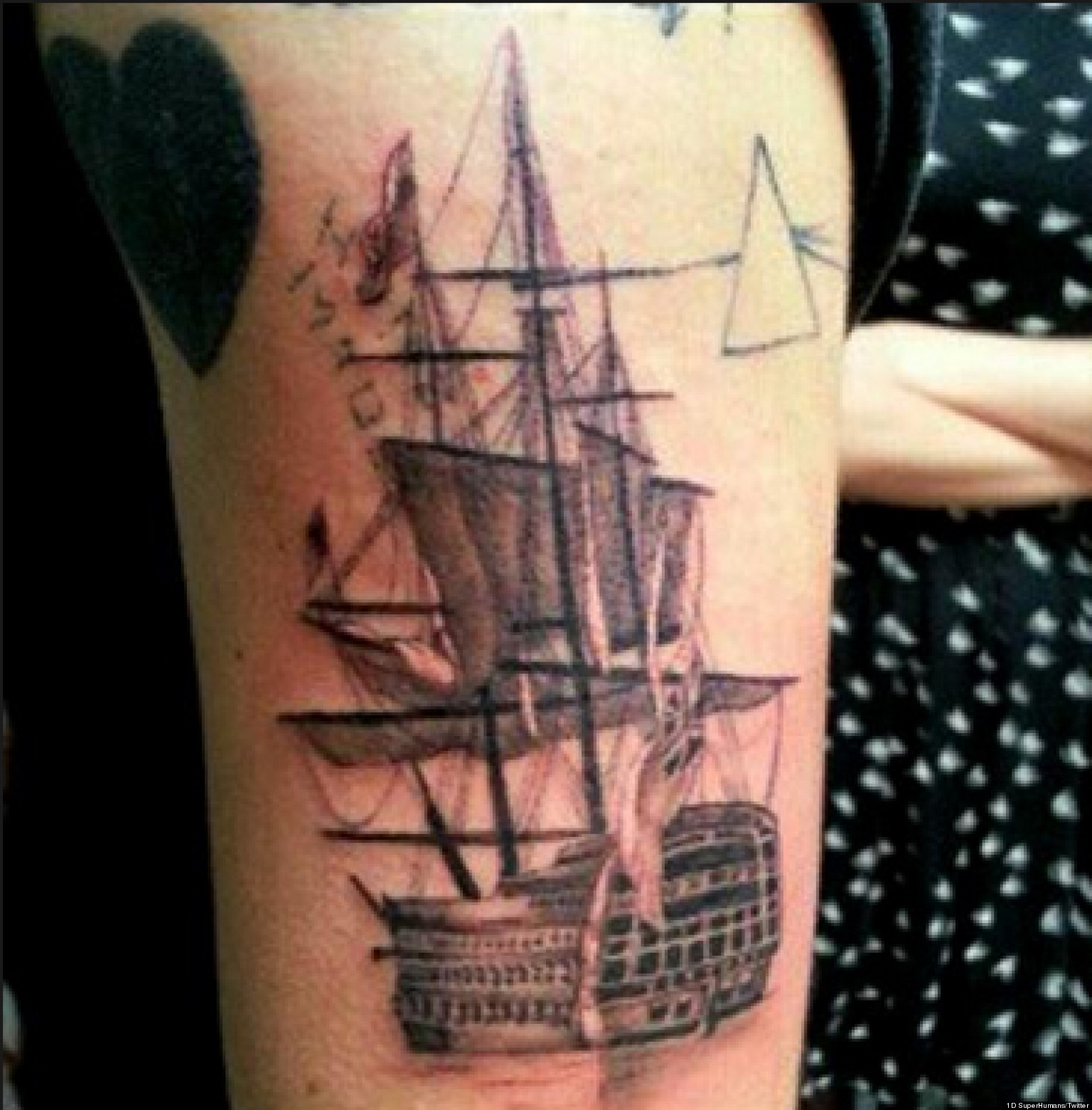 Types Of Tattoo Styles: Harry Styles' New Tattoo: Taylor Swift Joins One Direction