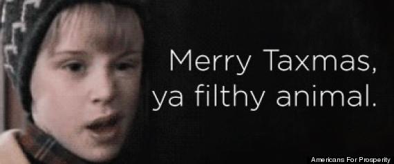 MERRY TAXMAS