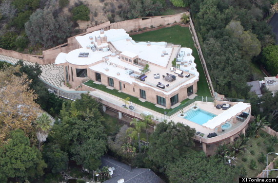 rihanna mansion