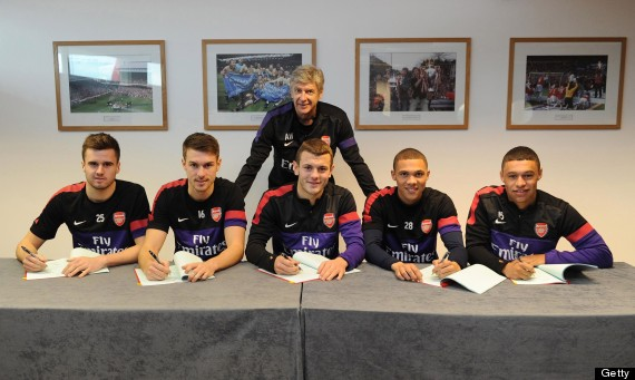 arsenal contracts