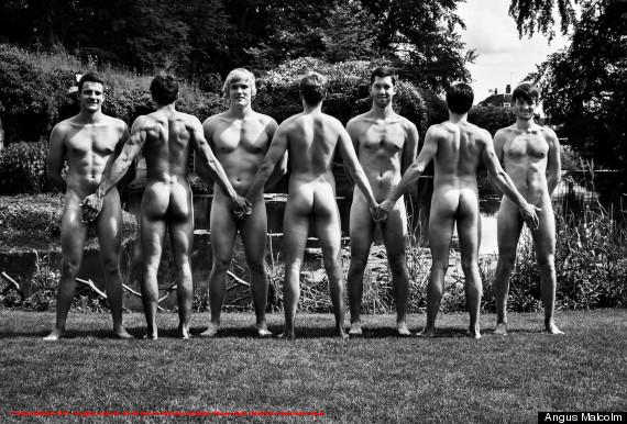 Warwick Women Rowing Naked Calendar Girls