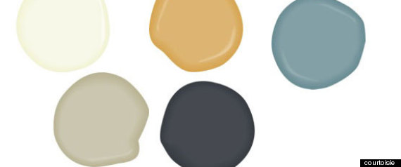 Chambre Garcon Gris Bleute : Les couleurs tendances pour la maison en 2013 (PHOTOS)
