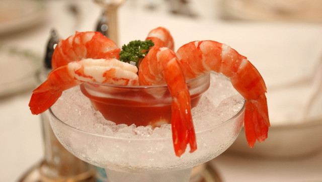 Cool & Spicy Asian Shrimp Cocktail Recipe — Dishmaps