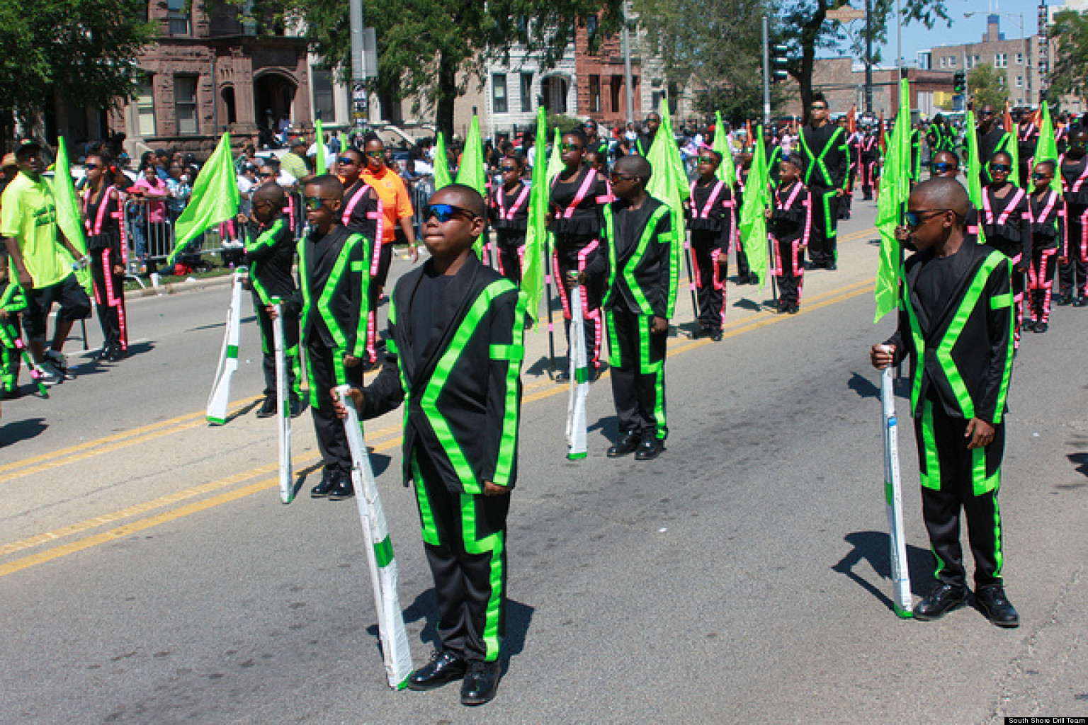 South Shore Drill Team Inauguration Day Honor Chicago