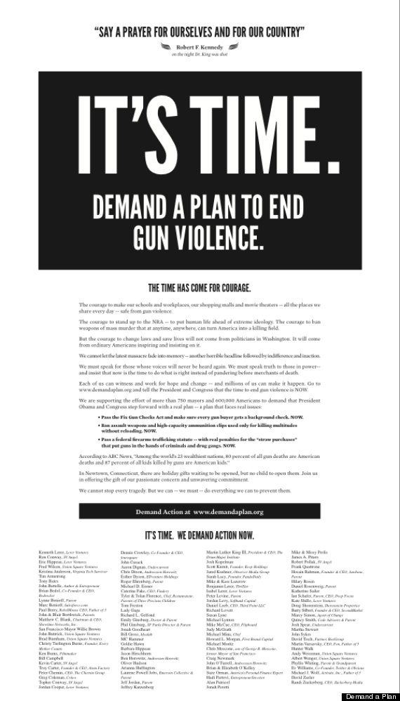 demand a plan campaign