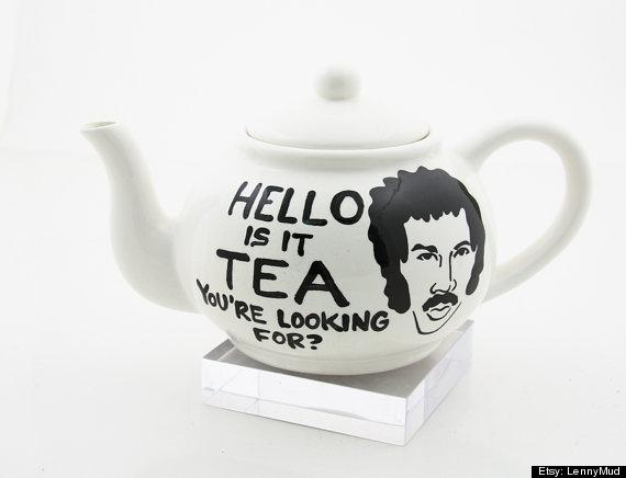 lionel richie tea pot