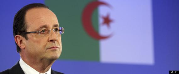 Hollande Souffrances Algerie