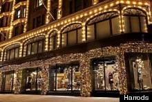 Winter Wonderland: Burberry Opens Pop-Up Boutique At Harrods