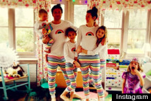 Stripey Style: Jamie Oliver And Family Dress For Christmas