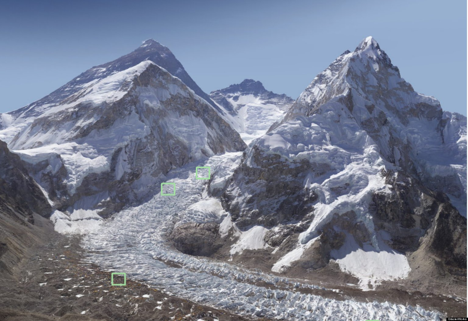 Mount Everest Panorama Mount Everest Panorama Two