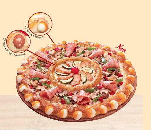 pizza hut double sensation