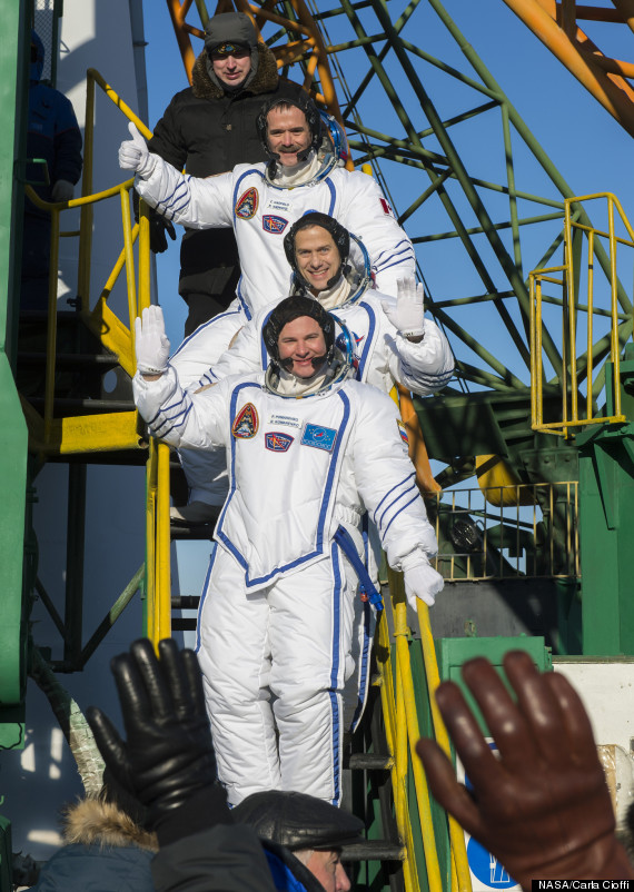 expedition 34 at launch