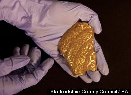 LOOK: Ancient Gold Artifacts Found In England