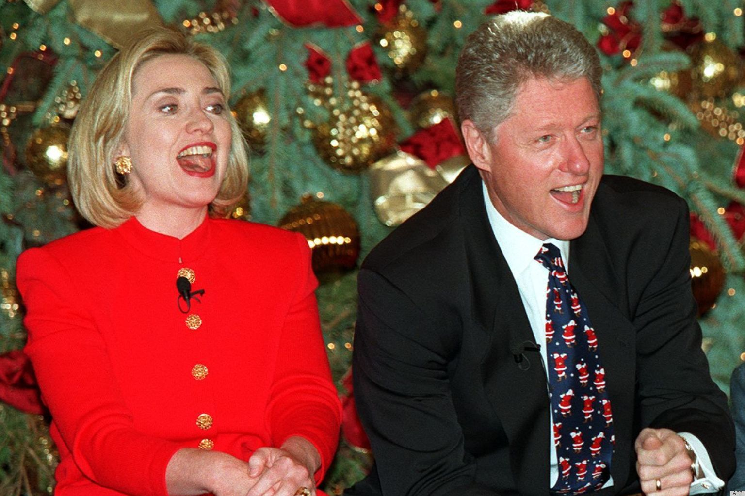 Clintons' Christmas In The '90s: How Bill, Hillary ...