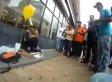 Man Celebrates Homeless Woman's Birthday (VIDEO)