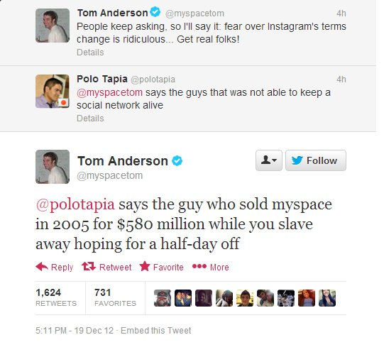 myspace tom twitter