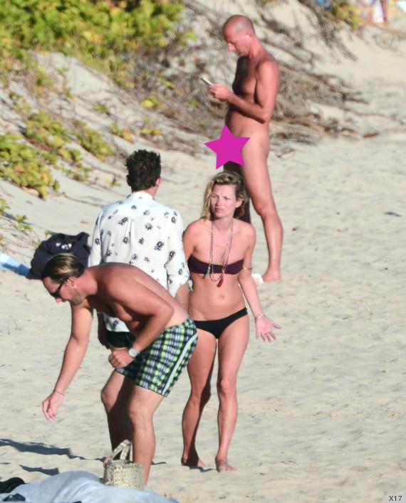 What kate moss topless bikini