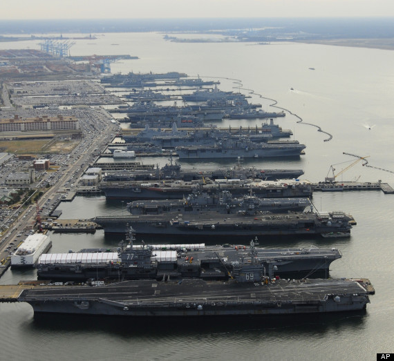 he worlds largest naval station
