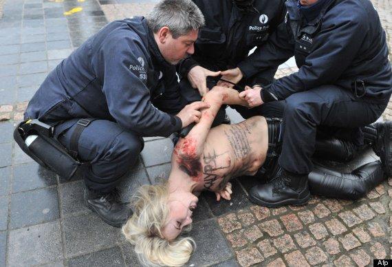 femen protesta apocalipsis