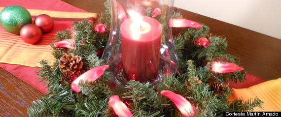Pin centros de mesa para presentacion 3 anos nina nino - Centro de mesa para navidad ...