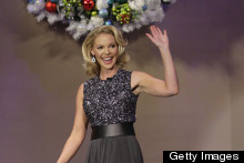 Katherine Heigl Adds Christmas Sparkle To The Jay Leno Show