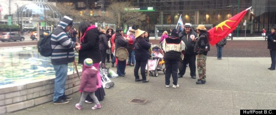 IDLE NO MORE VANCOUVER
