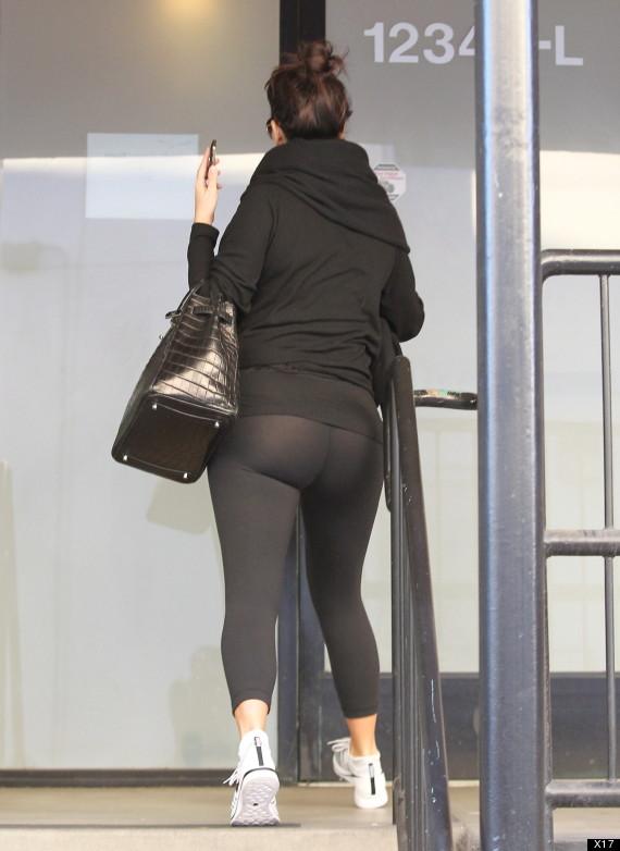 kim kardashian works out