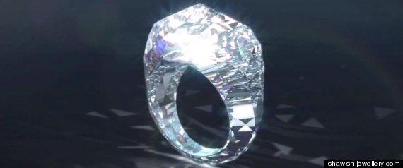 Anillo Completamente Diamante